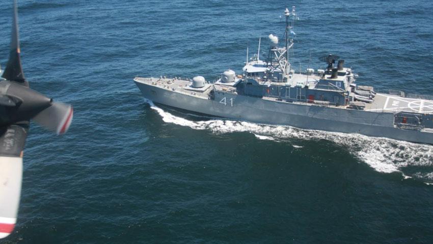 Un avión P3B Orion sobrevoló la zona de búsqueda del ARA «San Juan»