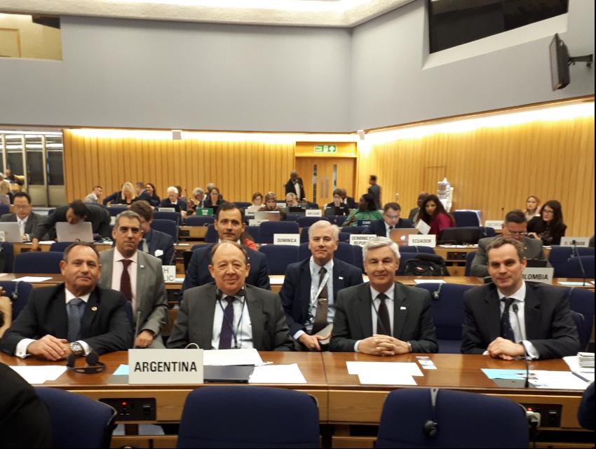 La República Argentina fue electa para integrar el Consejo de la Organización Marítima Internacional (OMI)