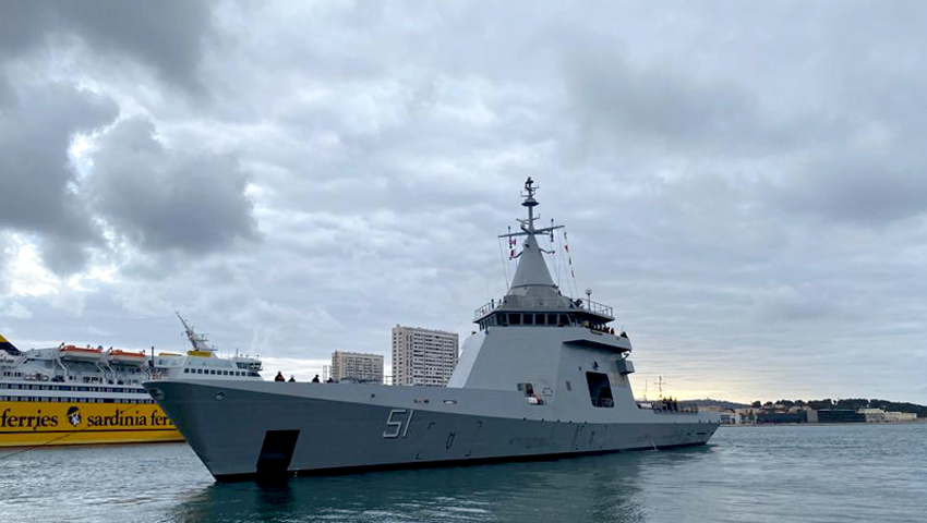 "Zarpó desde Francia el patrullero oceánico ARA ""Bouchard"" 15-1_Zarpada_Bouchart-3"