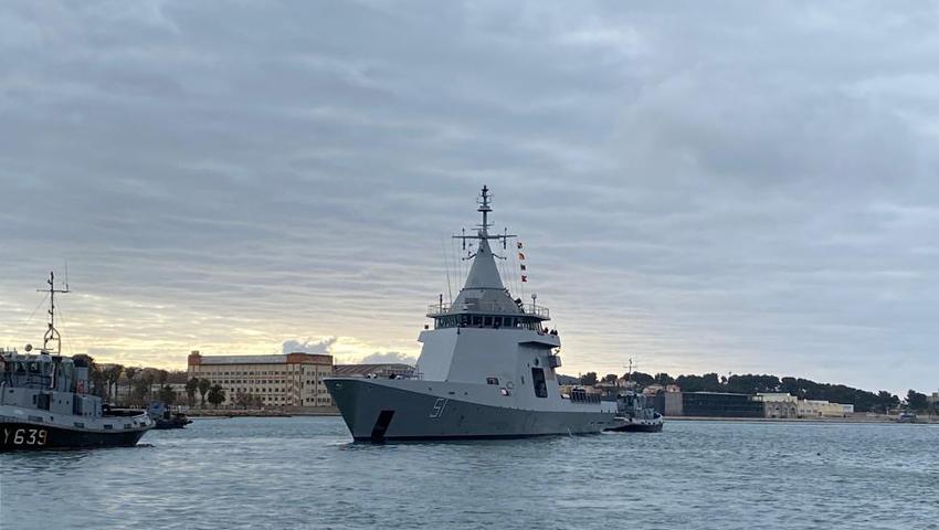 "Zarpó desde Francia el patrullero oceánico ARA ""Bouchard"" 15-1_Zarpada_Bouchart-4"