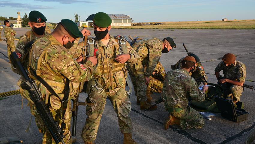 Las Fuerzas de Operaciones Navales Especiales de la Armada Argentina participarán de un ejercicio conjunto en Córdoba