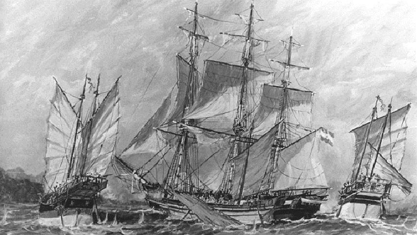Hace 202 años el Capitán de Navío Bouchard completaba la histórica vuelta al mundo