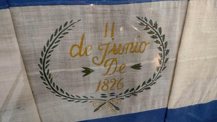 Bandera de los Pozos: el reconocimiento de las damas porteñas al Almirante Brown