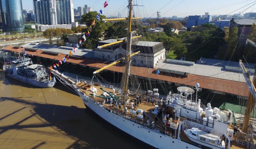 Apostadero Naval Buenos Aires: 60 años al servicio de la Armada Argentina