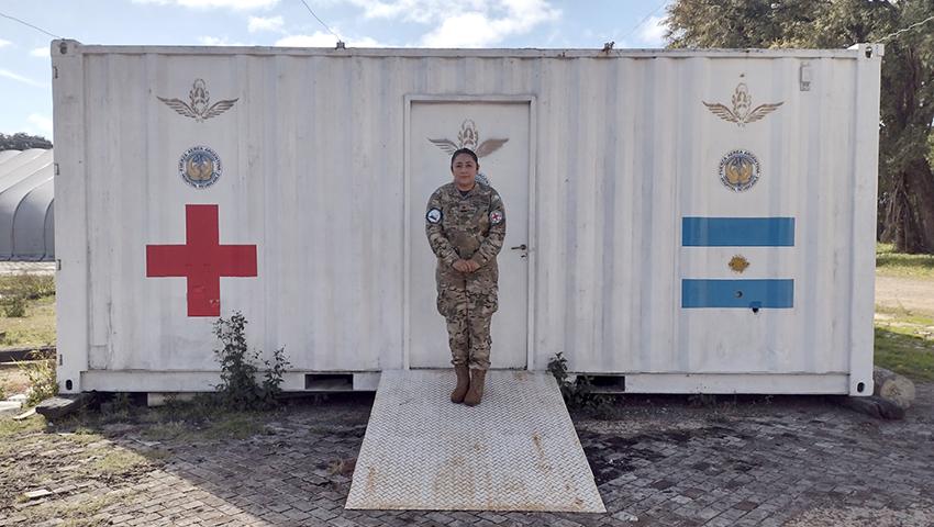 """""""La Armada Argentina me dio la posibilidad de hacer lo que me apasiona"""""""