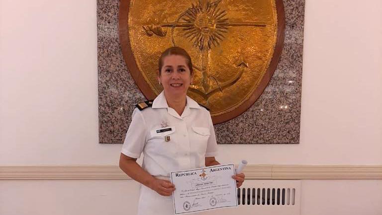 """""""La Armada Argentina es mi corazón, lo es todo para mí"""""""