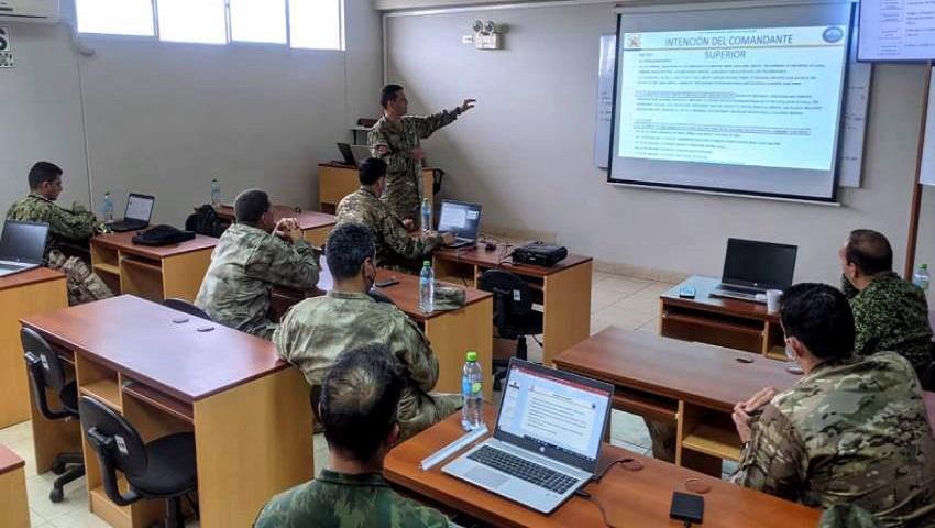 La Armada Argentina participó en la planificación del UNITAS LXII